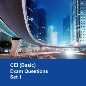CEI Basic Exam Questions (Set 1)