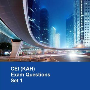 CEI KAH Exam Questions (Set 1)
