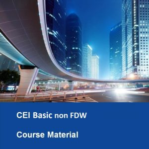 CEI Basic non FDW Textbook Course Material