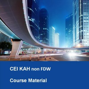 CEI KAH non FDW Textbook Course Material